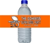 Football Water Bottle Label - Super Bowl (background color can be changed)
