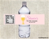 First Communion Water Bottle Label - Chalice & Wafer
