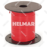 Primary Wire - Rated 80°C 18 Gauge - 16/30 Stranding - 02308 Wire (Red 100')