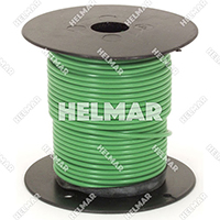 Primary Wire - Rated 80°C 18 Gauge - 16/30 Stranding - 02311 Wire (Green 100')