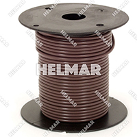 Primary Wire - Rated 80°C 18 Gauge - 16/30 Stranding - 02313 Wire (Brown 100')