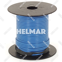 Single Conductor Wire - Rated 105° 18 Gauge - 16/30 Stranding - 07514 (Blue 500')