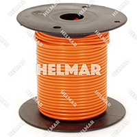 Primary Wire - Rated 80°C 18 Gauge - 16/30 Stranding - 02315 Wire (Orange 100')