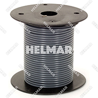 Primary Wire - Rated 80°C 18 Gauge - 16/30 Stranding - 02316 Wire (Grey 100')
