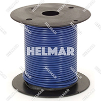 Primary Wire - Rated 80°C 18 Gauge - 16/30 Stranding - 02318 Wire (dk.Blue 100')