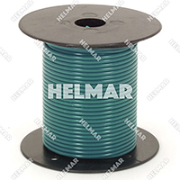 Primary Wire - Rated 80°C 18 Gauge - 16/30 Stranding - 02319 Wire (dk.Green 100')