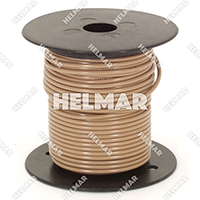 Primary Wire - Rated 80°C 18 Gauge - 16/30 Stranding - 02320 Wire (Tan 100')