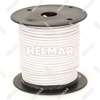 Primary Wire - Rated 80°C 14 Gauge - 19/27 Stranding - 02409 Wire (White 100')
