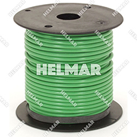 Primary Wire - Rated 80°C 14 Gauge - 19/27 Stranding - 02411 Wire (Green 100')