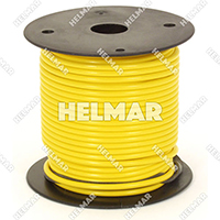 Primary Wire - Rated 80°C 14 Gauge - 19/27 Stranding - 02412 Wire (Yellow 100')