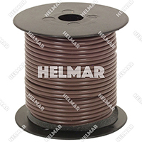Primary Wire - Rated 80°C 14 Gauge - 19/27 Stranding - 02413 Wire (Brown 100')