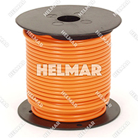 Primary Wire - Rated 80°C 14 Gauge - 19/27 Stranding - 02415 Wire (Orange 100')