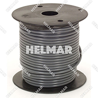 Primary Wire - Rated 80°C 14 Gauge - 19/27 Stranding - 02416 Wire (Grey 100')