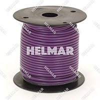 Primary Wire - Rated 80°C 14 Gauge - 19/27 Stranding - 02417 Wire (Purple 100')
