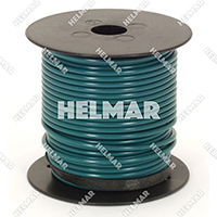Primary Wire - Rated 80°C 14 Gauge - 19/27 Stranding - 02419 Wire (dk.Green 100')