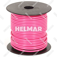 Primary Wire - Rated 80°C 14 Gauge - 19/27 Stranding - 02421 Wire (Pink 100')