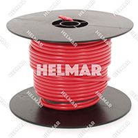Primary Wire - Rated 80°C 12 Gauge - 19/25 Stranding - 02458 Wire (Red 100')