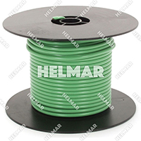 Single Conductor Wire - Rated 105° 10 Gauge - 105/30 Stranding - 07599 (Green 100')