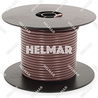 Primary Wire - Rated 80°C 12 Gauge - 19/25 Stranding - 02463 Wire (Brown 100')