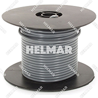 Primary Wire - Rated 80°C 12 Gauge - 19/25 Stranding - 02466 Wire (Grey 100')