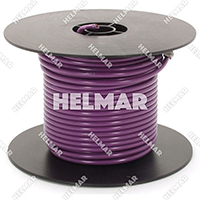 Primary Wire - Rated 80°C 12 Gauge - 19/25 Stranding - 02467 Wire (Purple 100')