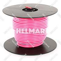 Primary Wire - Rated 80°C 12 Gauge - 19/25 Stranding - 02471 Wire (Pink 100')