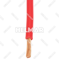 04600<BR>BATTERY CABLES (RED 25')