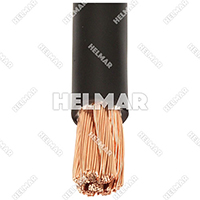 Forklift 3/0 Gauge Battery Cables - 259/22 Stranding 04636 (Black 25')