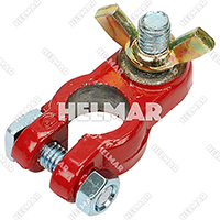 Forklift Wiring Battery Cable Terminals - 05310 (Epoxy/Red)