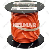 Single Conductor Wire - Rated 105° 18 Gauge - 16/30 Stranding - 07507 (Orange 100')