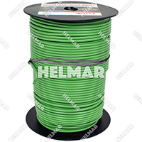 Single Conductor Wire - Rated 105° 12 Gauge - 65/30 Stranding - 07583 (Green 500')