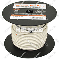 Single Conductor Wire - Rated 105° 12 Gauge - 65/30 Stranding - 07581 (White 500')