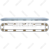 15-00038-E<br>LIGHTBAR (LED/AMBER)