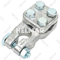 Forklift Wiring Battery Cable Terminals - 1512137 (3 Way 2-4G Neg)