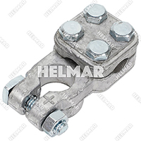 Forklift Wiring Battery Cable Terminals - 1512138 (3 Way 2-4G Pos)