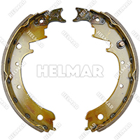 1591664 BRAKE SHOE SET (2 SHOES)