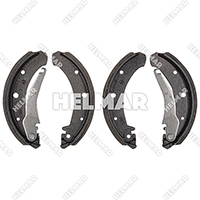 2800017 BRAKE SHOE SET (4 SHOES)