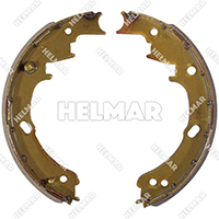 1565314 BRAKE SHOE SET (2 SHOES)