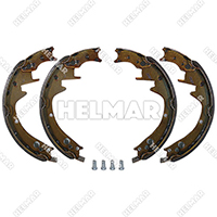 20803-71151  BRAKE SHOE SET 2 SHOES