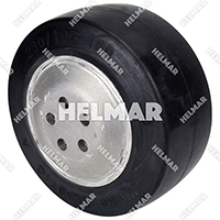 550011243 RUBBER TIRE/HUB
