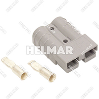 6319 CONNECTOR W/CONTACTS (SB50 #6 GRAY)