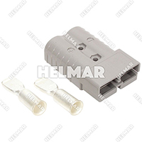 6345G2 CONNECTOR W/CONTACTS (SBX350 3/0 GRAY)