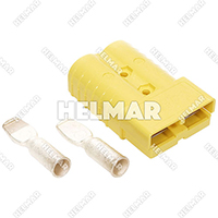 6364G1 CONNECTOR W/CONTACTS (SBX350 2/0 YELLOW)