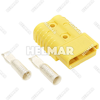 6328G1<br>CONNECTOR/CONTACTS (SB175 1/0 YELLOW)