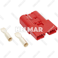 6342G1 CONNECTOR W/CONTACTS (SBX350 2/0 RED)