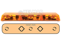 6363001<br>LIGHTBAR (ROTATOR/AMBER)