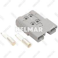 6370G1 CONNECTOR W/CONTACTS (SBX175 1/0 GRAY)