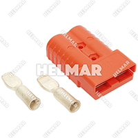 6400G1<br>CONNECTOR W/CONTACTS (SB350 2/0 ORANGE)