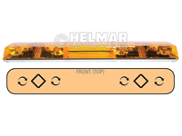 6483002<br>LIGHTBAR (ROTATOR/AMBER)