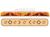 6483003<br>LIGHTBAR (ROTATOR/AMBER)